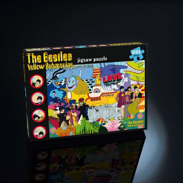 The Beatles - Yellow Submarine - 1000pc jigsaw puzzle