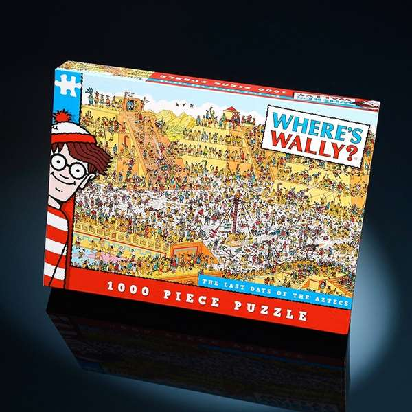 Wheres Wally - Last Day of the Aztecs jigsaw puzzle
