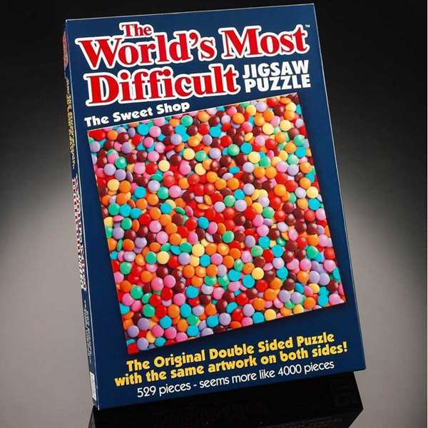 Worlds Most Difficult - Sweet Shop - 529pc jigsaw puzzle
