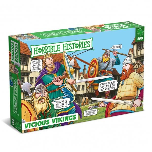 Horrible Histories - Vicious Vikings - 250pc jigsaw puzzle
