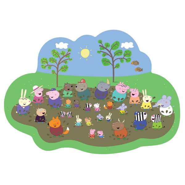 Peppa Pig Muddy Puddle Puzzle Jigsaw Puzzle