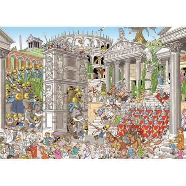 Pieces of History - The Romans jigsaw puzzle
