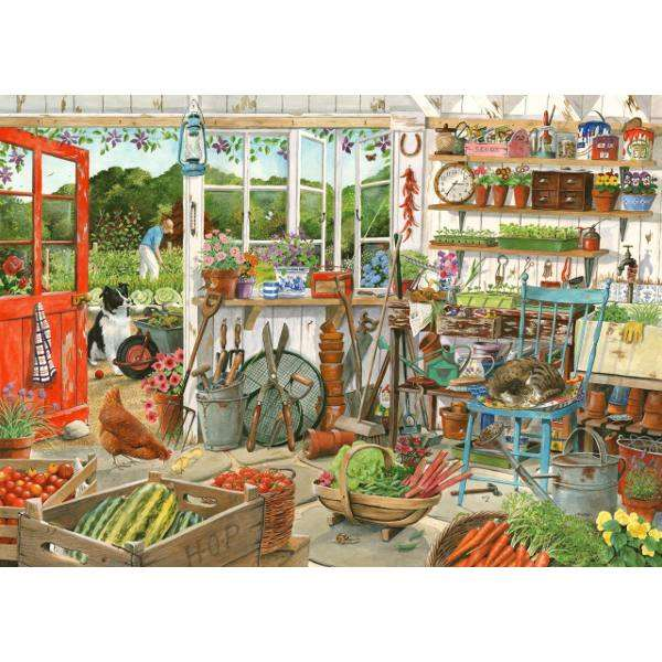 Potting Shed jigsaw puzzle