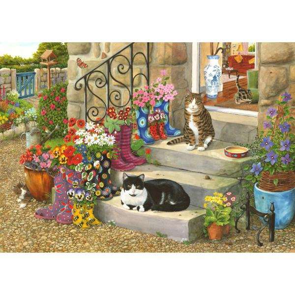 Puss In Boots - Big 500pc jigsaw puzzle