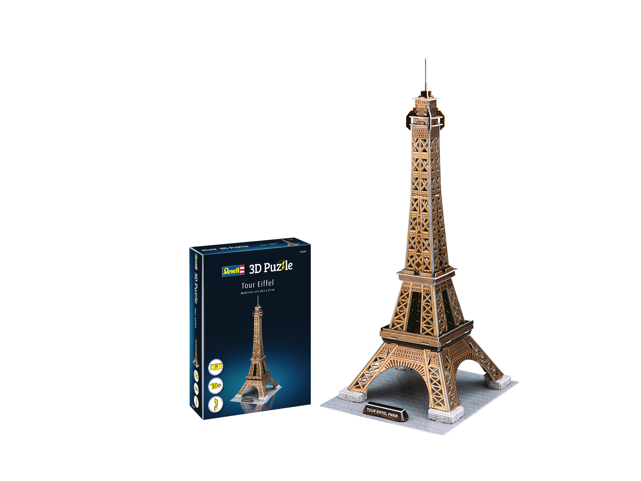 REVELL - Eiffel Tower 3D Puzzle - 39pc jigsaw puzzle