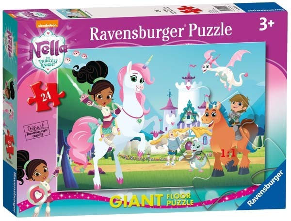 Nella The Princess Knight - Giant Floor Puzzle - 24pc jigsaw puzzle