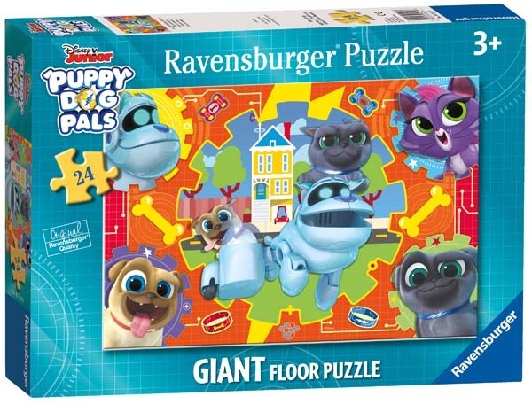 Puppy Dog Pals - Giant Floor Puzzle - 24pc jigsaw puzzle