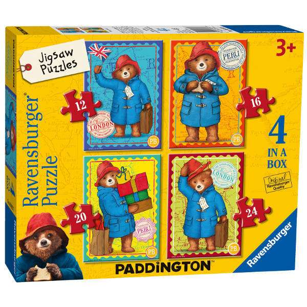 Paddington Bear - 4 in 1 jigsaw puzzle