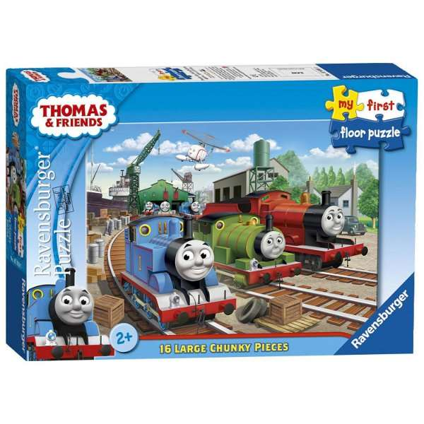 Thomas And Friends My First Floor Puzzle 16pc Jigsaw