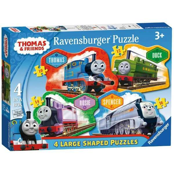 Thomas and Friends - 4 Shaped Puzzles jigsaw puzzle