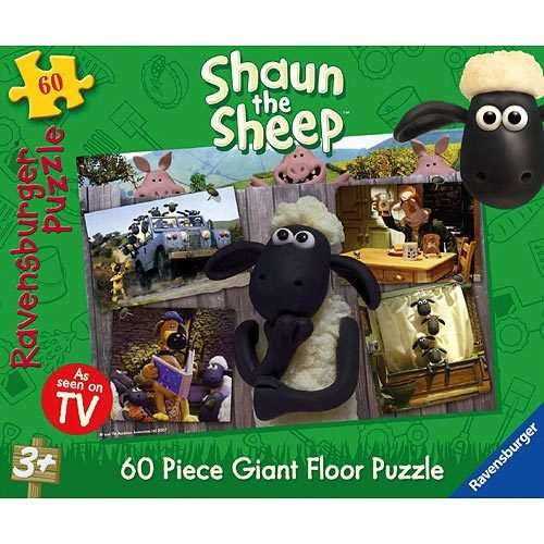 Shaun The Sheep Giant Floor Puzzle Jigsaw Puzzle From