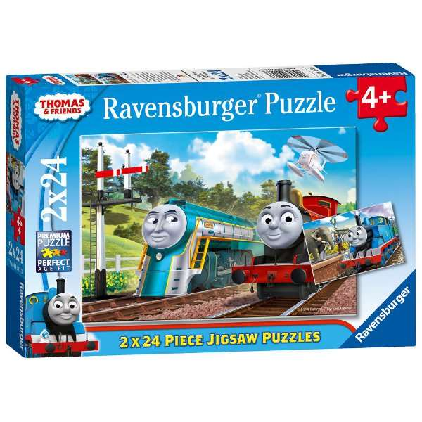 Thomas and Friends - 2 x 24pc jigsaw puzzle
