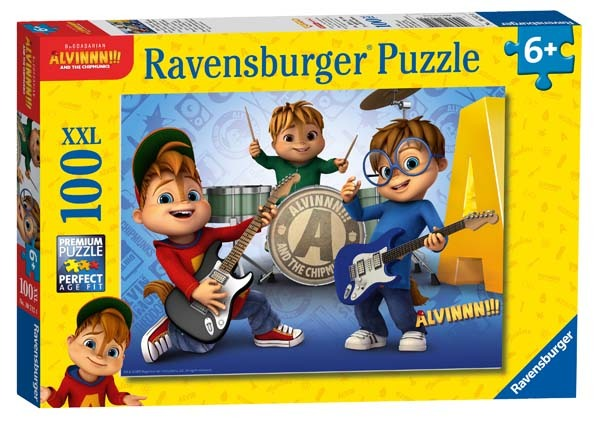 Alvin and the Chipmunks - 100XXL piece jigsaw puzzle
