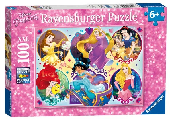Disney Princesses - 100XXL piece jigsaw puzzle