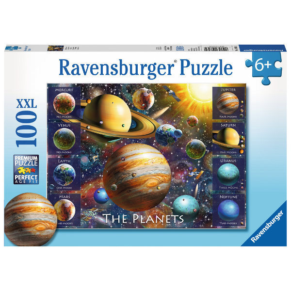 The Planets - 100XXL jigsaw puzzle
