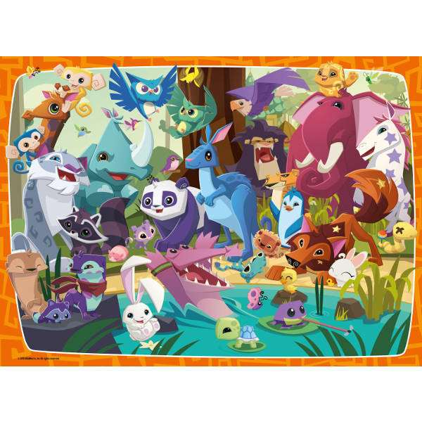 Animal Jam 100XXLpc jigsaw puzzle