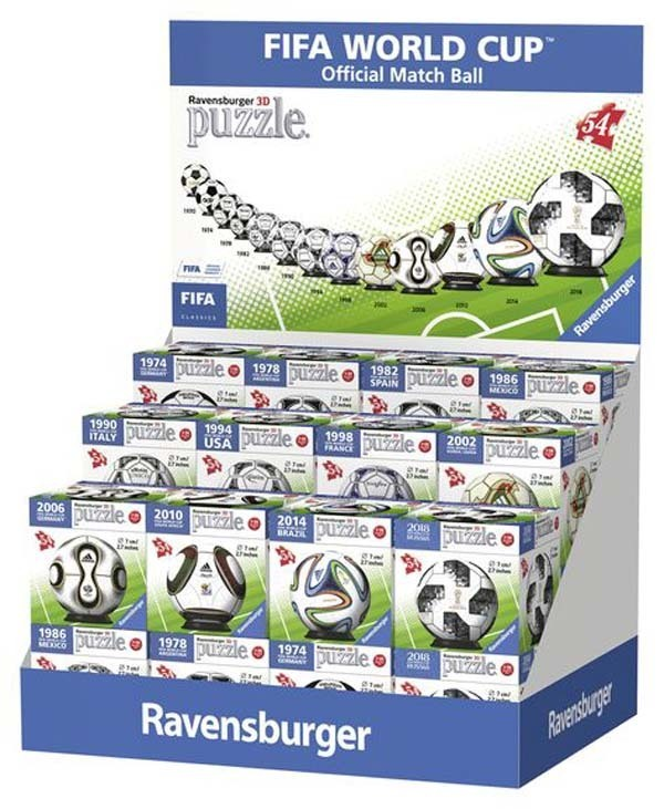 Fifa world cup football mini 3d puzzle ball assortment jigsaw fifa world cup football mini 3d puzzle ball assortment jigsaw puzzle gumiabroncs Image collections