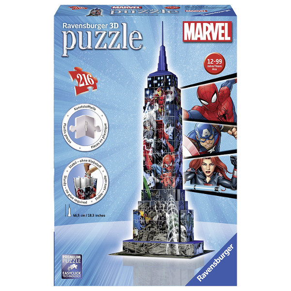 Marvel Empire State Building - 216pc jigsaw puzzle