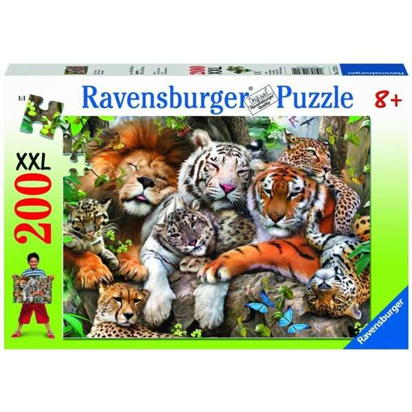 Ravensburger Jigsaw Puzzle  Pieces Big Cat Nap