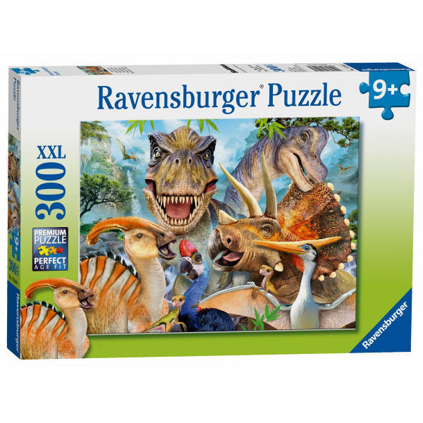 Delighted Dinos - 300XXL jigsaw puzzle