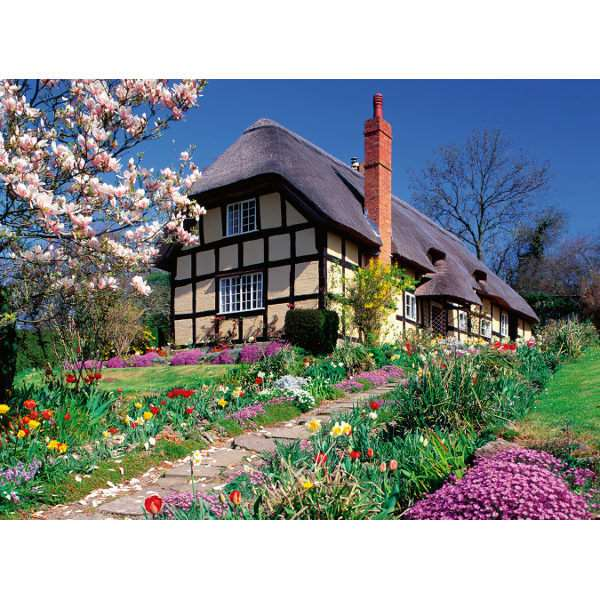 Country Cottage Extra Large  - 300pc jigsaw puzzle