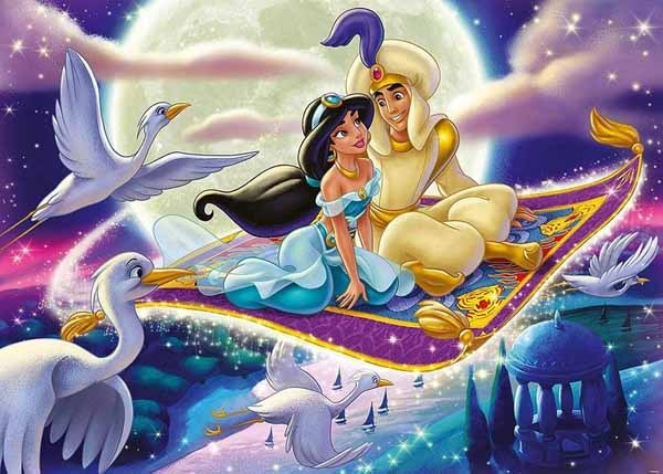 Disney Collectors Edition - Aladdin - 1000pc jigsaw puzzle