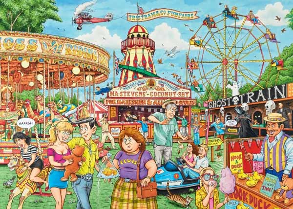 Best of British - The Fairground - 1000pc Jigsaw Puzzle from