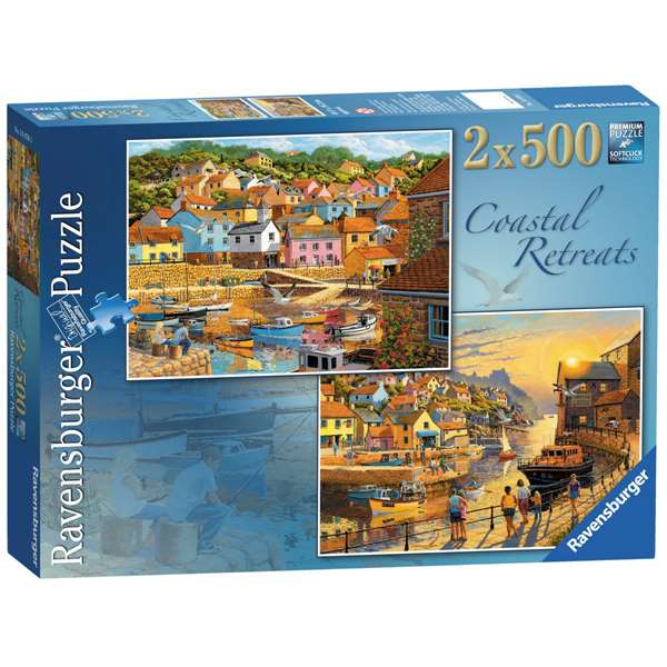 Coastal Retreats - 2 x 500 Piece jigsaw puzzle