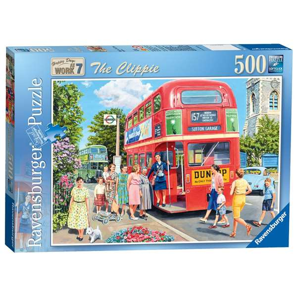 Happy Days At Work - The Clippie jigsaw puzzle