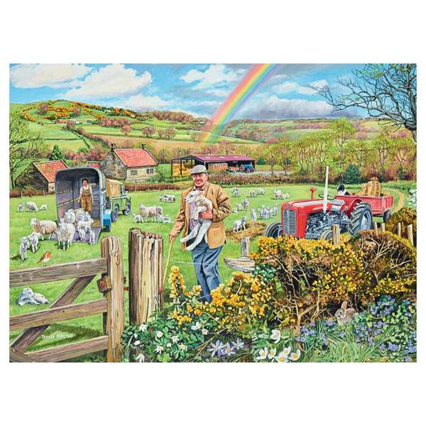 Happy Days At Work - The Farmer jigsaw puzzle
