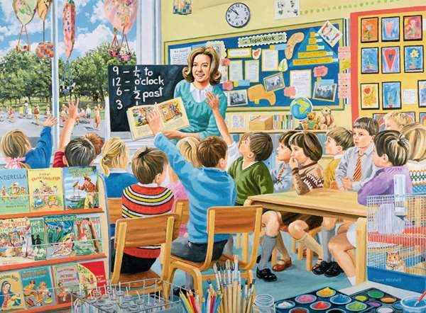 Happy Days at Work - The Teacher - 500pc jigsaw puzzle