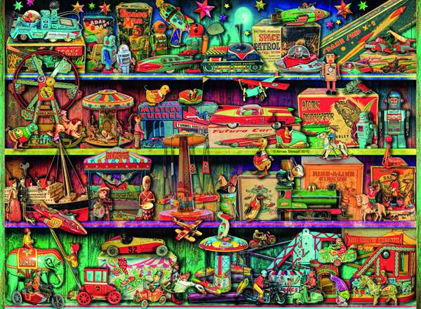Toy Wonderama - 500pc jigsaw puzzle