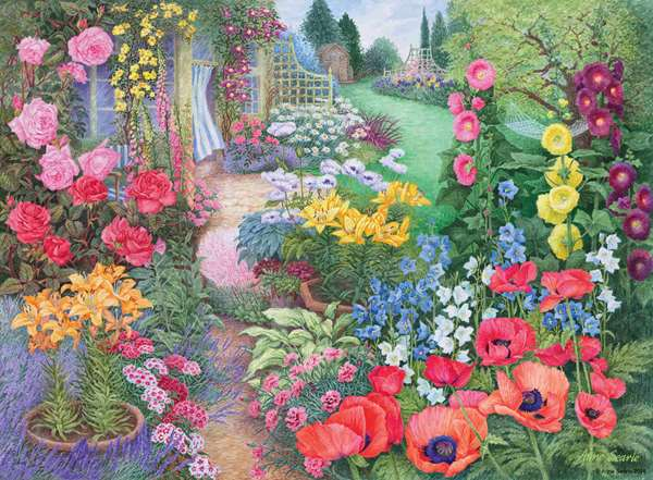 Garden Vistas No 2 - Summer Breeze - 500pc jigsaw puzzle