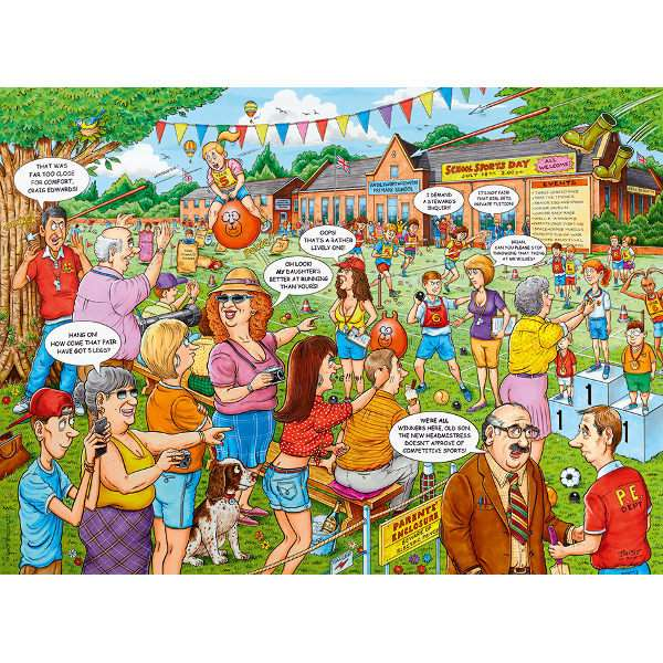 Best of British - School Sports Day - 500pc jigsaw puzzle