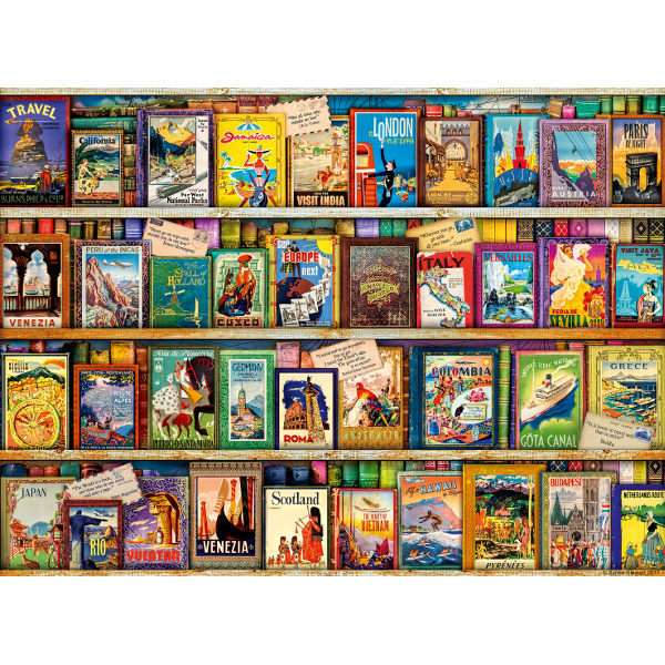 Vintage Travel - 500pc jigsaw puzzle