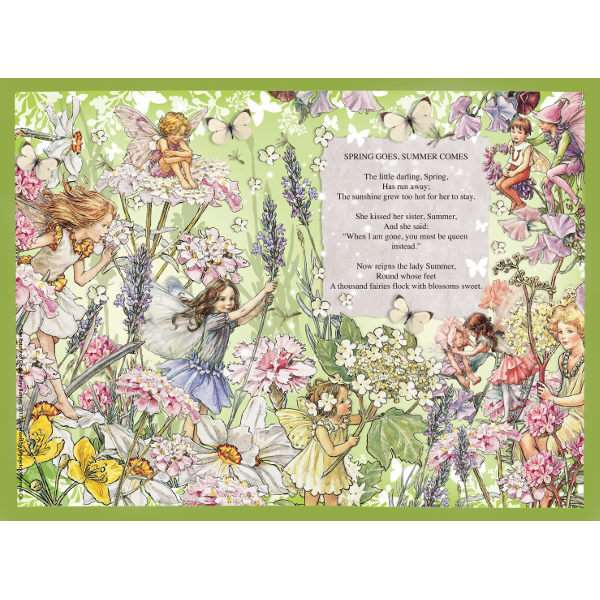 Flower Fairies - 500pc jigsaw puzzle