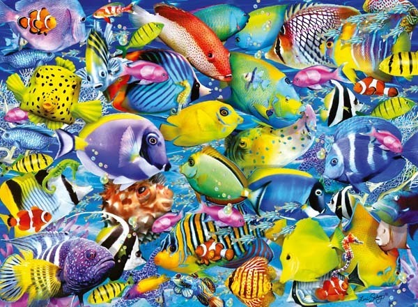 Underwater - 500pc jigsaw puzzle