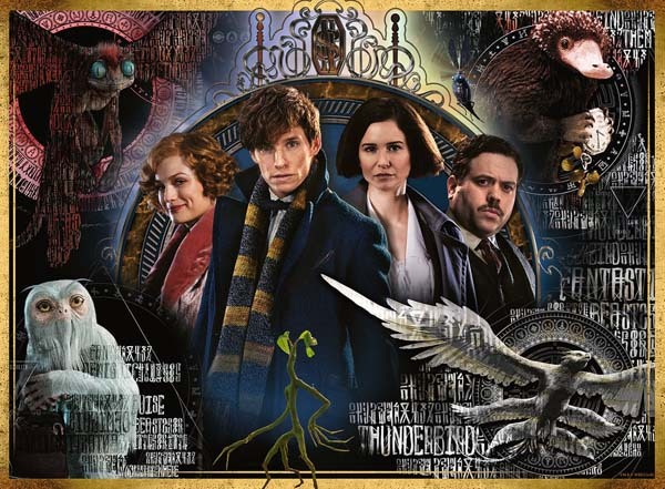 Fantastic Beasts - The Crimes of Grindelwald - 500pc jigsaw puzzle