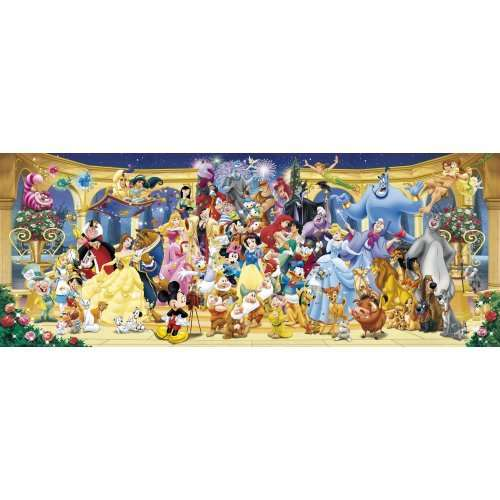 Disney Panoramic jigsaw puzzle