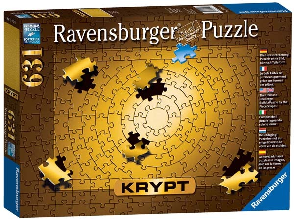 Krypt Gold - 631pc jigsaw puzzle