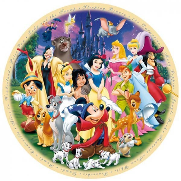 Wonderful World of Disney - 1000pc jigsaw puzzle