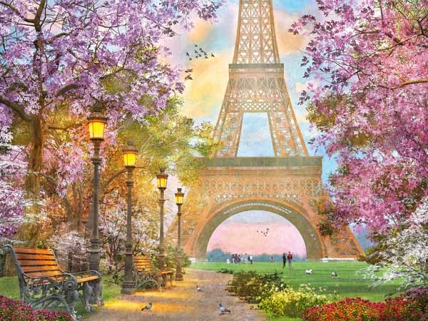 Paris Romance - 1500pc jigsaw puzzle