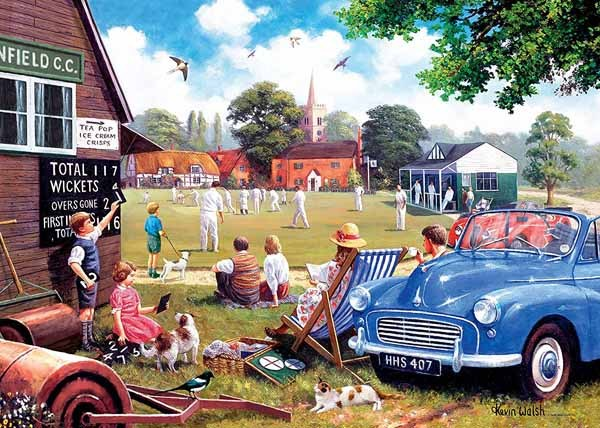 Leisure Days No 4 - The Scoreboard End - 1000pc jigsaw puzzle