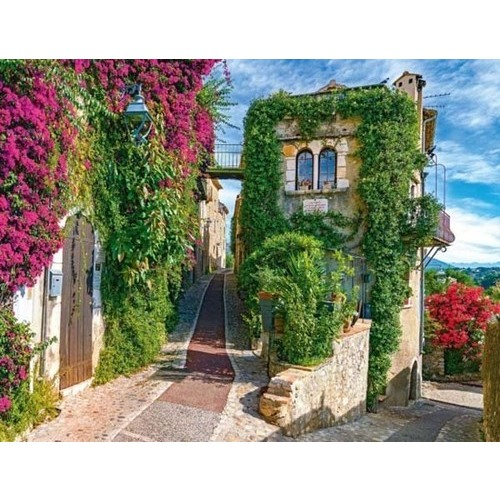 Idyllic French Houses - 2000pc jigsaw puzzle