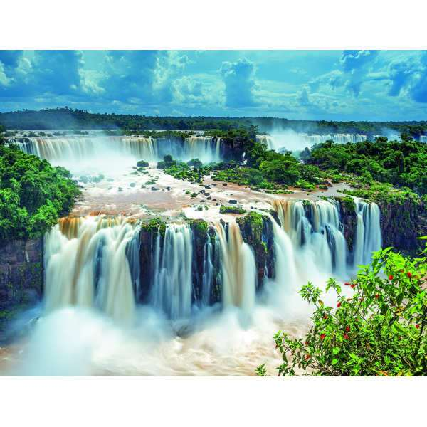 Waterfall 2000pc jigsaw puzzle from jigsaw puzzles for Waterfall delivery