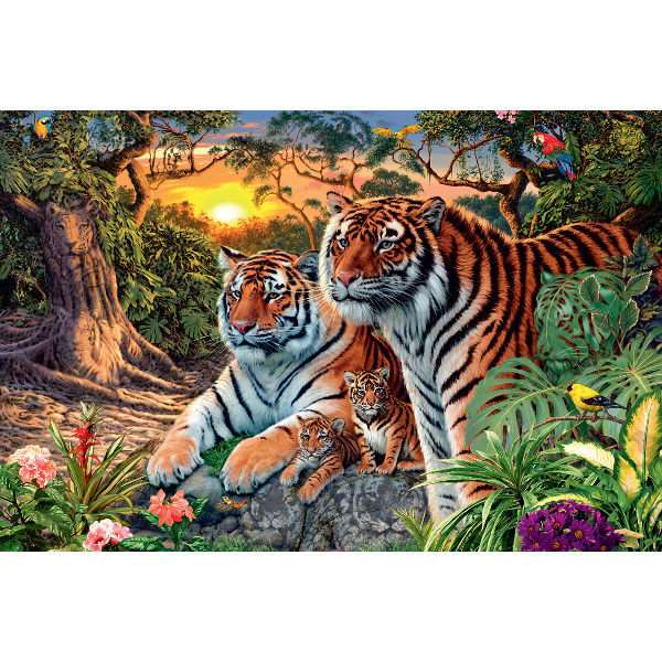 Hidden Tigers - 3000pc jigsaw puzzle