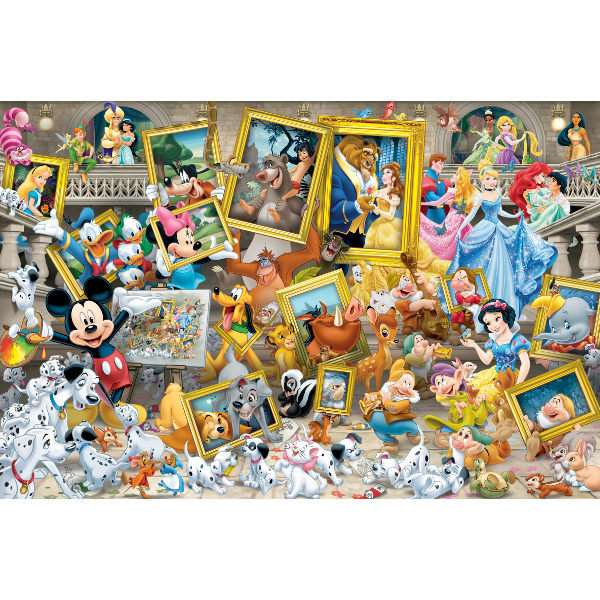 Disney Multicharacter - 5000pc jigsaw puzzle