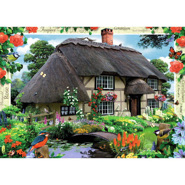 Country Cottage - River Cottage jigsaw puzzle