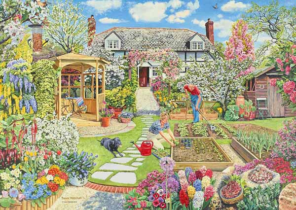 Gardening World Spring Jigsaw Puzzle From Puzzles