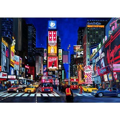 Times square jigsaw puzzle from jigsaw puzzles direct order today